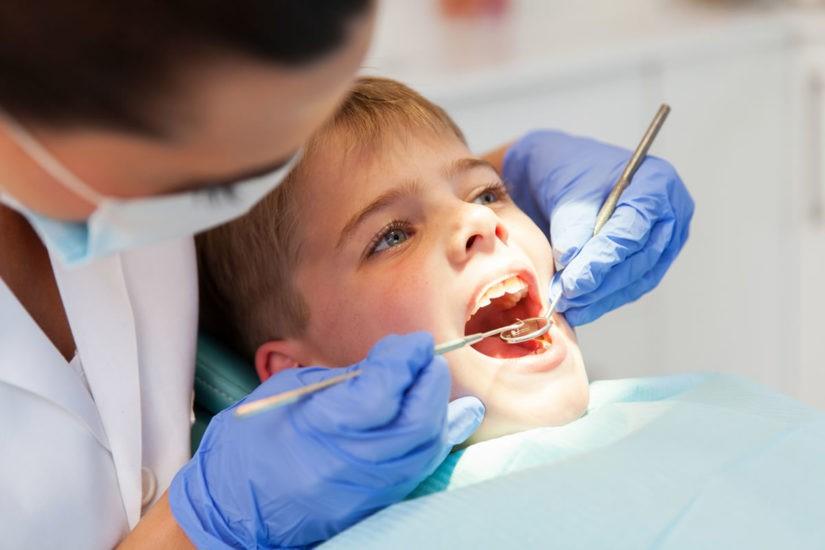 17 - پر کردن دندان کودکان