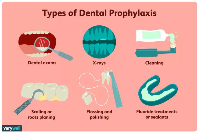 2 - پروفیلاکسی یا پیشگیری از بروز مشکلات دندانپزشکی